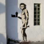 Banksy- Caveman